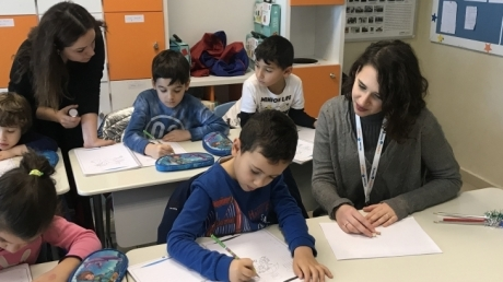 Okyanus Koleji Mavişehir Kampüsünde İlkokula Hazırlık Çalışmaları