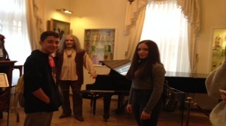 Anadolu Lisesi Öğrencileri Barış Manço Müze Evi'nde!