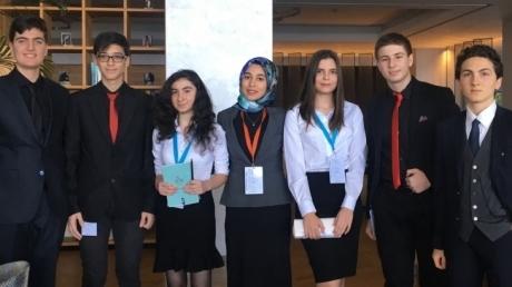 Ataşehir Okyanus Koleji Lise Kademesi Okyanus MUN'da!