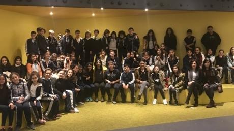 Özel Çekmeköy Okyanus Ortaokulu Karanlıkta ve Sesizlikte Diyalog Etkinliğine Katıldı.