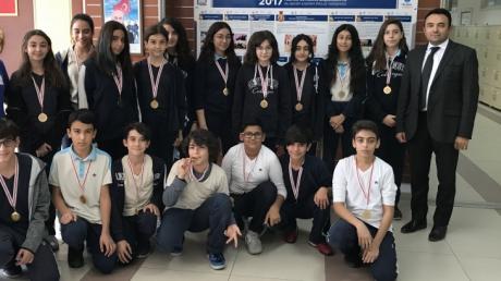 Sınıflar arası Yakan Top Turnuvası Ödülleri Sahiplerini Buldu