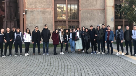 Sancaktepe Okyanus Koleji Hukuk Kariyer Kulübü Öğrencileri Bilgi Üniversitesini ziyaret etti