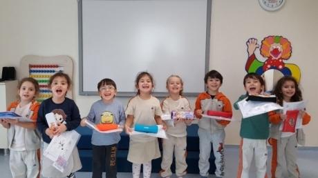Sancaktepe Okyanus Koleji Okul Öncesi Balıklar Grubu Öğrencileri Fastrackids Dersinde