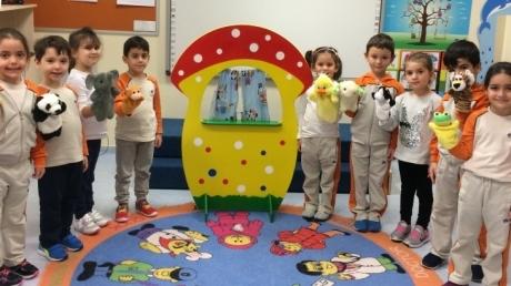 Sancaktepe Okyanus Koleji Okul Öncesi Gezegenler Grubu Öğrencileri Türkçe Dil Etkinliğinde