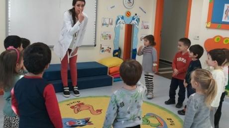 Sancaktepe Okyanus Koleji Okul Öncesi Kuşlar Grubu Öğrencileri Oyun Etkinliğinde