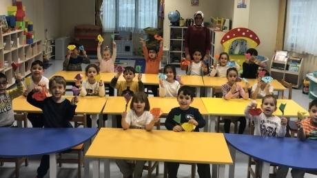 Sancaktepe Okyanus Koleji Okul Öncesi Yıldızlar Grubu Öğrencileri Veli Katılımı Etkinliğinde