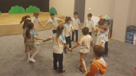 1.Sınıflar Drama Dersinde