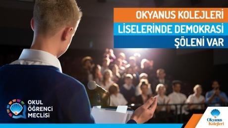 Okul Öğrenci Meclisi ve Okul Meclis Başkanlığı Seçimleri Tamamlandı