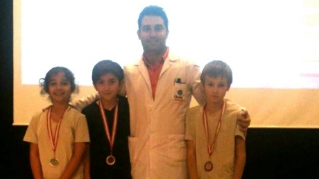 5. Sınıflarda Hazırbulunuşluk Sınavında Dereceye Giren Öğrencilerimiz Madalyalarını Aldı