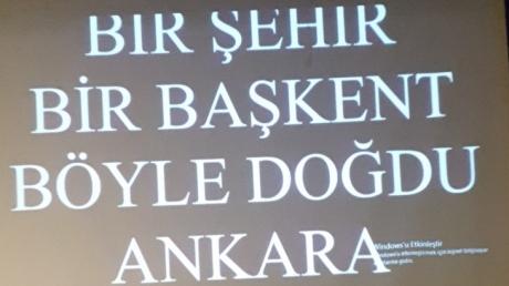 Ankara'nın Başkent Oluşunun 94. Yıl Dönümü Coşkulu Bir Törenle Kutlandı
