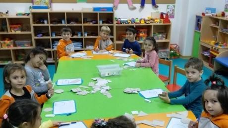 Avcılar Denizyıldızı Grubu Öğrencileri Okuma Yazmaya Hazırlık Etkinliğinde