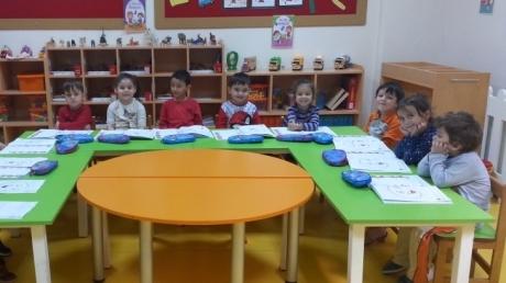 Avcılar İnciler Grubu Öğrencileri Okuma Yazmaya Hazırlık Etkinliğinde