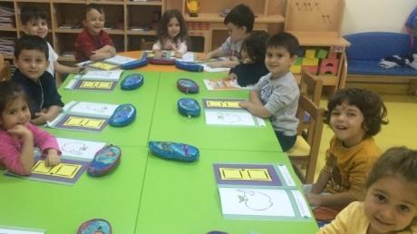 Avcılar Yağmur Grubu Öğrencileri Okuma-Yazmaya Hazırlık Etkinliğinde