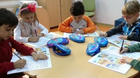 Avcılar Yıldızlar Grubu Okuma-Yazmaya Hazırlık Etkinliğinde