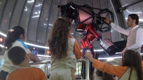 3. Sınıf Öğrencileri Uzay Bilimleri Araştırma Merkezinde