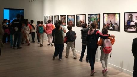4-A, 4-B, 4-C Ve 4-D Sınıfları Pera Müzesi Gezisinde