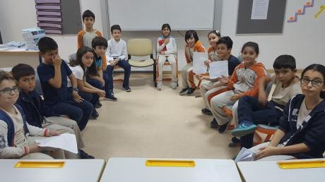 Bahçeşehir Üstün Zekâlılar Okulu 4-E Sınıfı Öğrencileri 'Münazara' Etkinliğinde