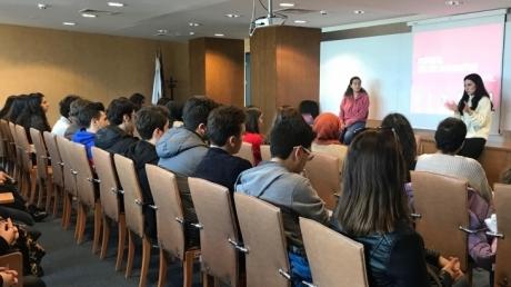 Beykent Okyanus Koleji 12.Sınıf öğrencileri için Kültür Üniversitesi etkinliği gerçekleştirildi.