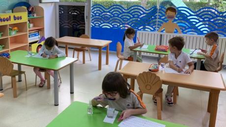 Beylikdüzü Okul Öncesi Gökkuşağı Sınıfı Fen-Matematik Etkinliğinde