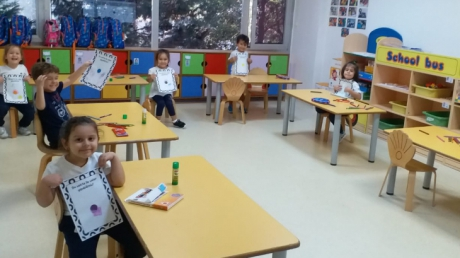 Beylikdüzü Okul Öncesi İnciler Grubu Bütünleştirilmiş Türkçe Dil  ve Sanat Etkinliği Dersinde