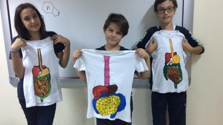 Fen Bilimleri Dersinde Model Hazırlama ve Boyama Tekniği ile Öğreniyoruz