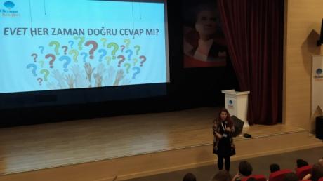 Bornova Okyanus Koleji Ortaokul Kademesinde Kişisel Gelişim Dersleri Tüm Hızıyla Devam Ediyor