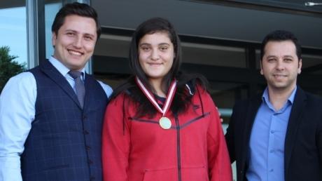 Öğrencimiz Büşra Işıldar Avrupa Şampiyonu Oldu!