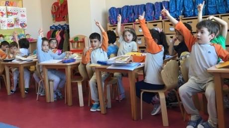 Çekmeköy Okul Öncesi Yıldızlar Grubu Okuma-Yazma Hazırlık Etkinliğinde