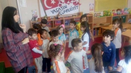 Çekmeköy Okul Öncesi Yıldızlar Grubu Drama Etkinliğinde