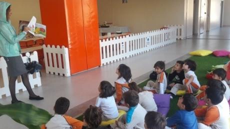 Çekmeköy Okyanus Koleji Gökkuşağı Gökkuşağı Grubu İngilizce Dersinde
