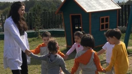 Çekmeköy Okyanus Koleji Okul Öncesi, Çiçekler Grubu Oyun Etkinliğinde
