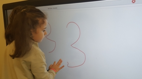 Eryaman Okyanus Koleji Okul Öncesi Bölümü Yıldızlar Sınıfı Okuma Yazmaya Hazırlık Dersinde
