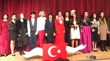 Eryaman Okyanus Kolejinde 29 Ekim Cumhuriyet Bayramı Tüm Coşkusuyla Kutlandı!