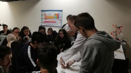 Fatih Okyanus Anadolu Lisesi Beyin Diseksiyonu
