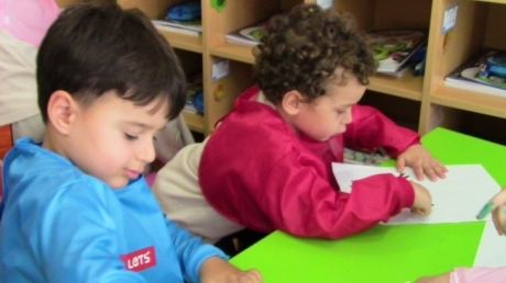 Fatih Okyanus Koleji Okul Öncesi  İnciler Grubu Sanat  Dersinde