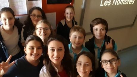 Fransızca Dil KulübüÖğrencileri Sayıları Öğreniyor