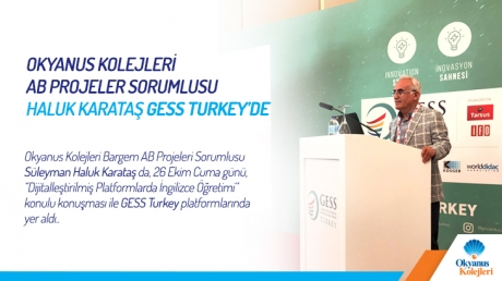 GESS (Global Educational Supplies and Solutions) Turkey, 25-27 Ekim 2018 tarihlerinde Wow Otel'de gerçekleşmektedir.