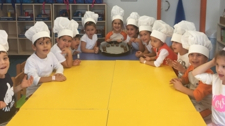 Gezegenler Grubu Mutfak Etkinliğinde