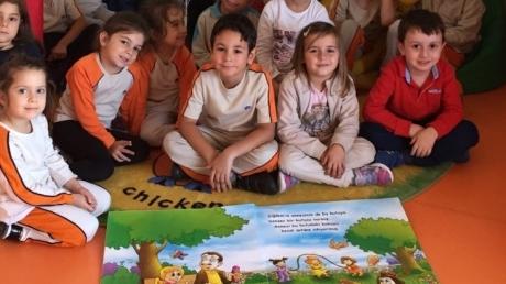 Gökkuşağı Grubu Türkçe Dil Etkinliğinde
