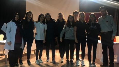 Güneşli Okyanus Anadolu Lisesinde Münazara Şenliği