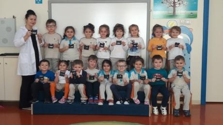 Güneşli Okyanus Koleji Okul Öncesi Yunuslar Grubu Fen ve Matematik Etkinliğinde