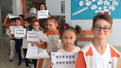 Halkalı Okyanus Koleji İlkokul Kademesinden ''Demokrasi Eğitimi Projesi''