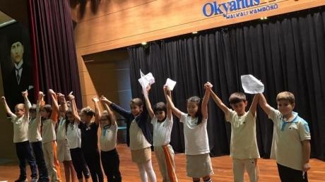 İlkokul Kademesi Okul Meclis Başkan Adayları Propaganda Çalışması...