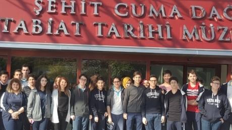 MTA Şehit Cuma Dağ Tabiat Tarihi Müzesi'ne Ziyaretimiz