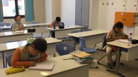 Üstün Zekalılar İlkokulunda Grup Dersleri