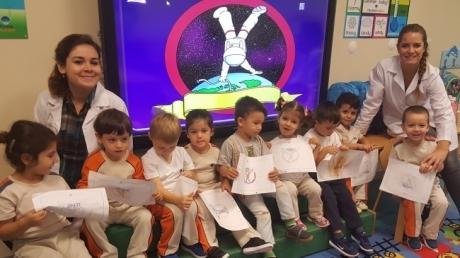 Mavişehir Okyanus Koleji Okul Öncesi Denizyıldızları Grubu Fastrackids Dersinde
