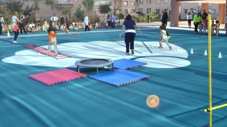 Mavişehir Okyanus Koleji Okul Öncesi Öğrencileri Sağlıklı Yaşam İçin Spor Yapıyorlar