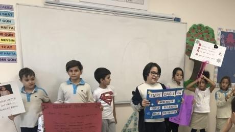 Öğrencilerimiz Okul Başkanını Seçti