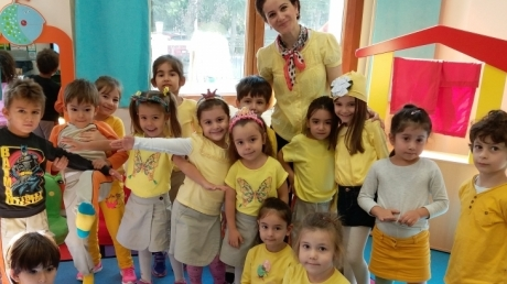 Mimarsinan Okyanus Koleji Okul Öncesi Yıldızlar Grubu Türkçe Etkinliğinde