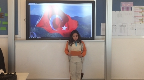 3/C Sınıfında 29 Ekim Cumhuriyet Bayramı Heyecanı